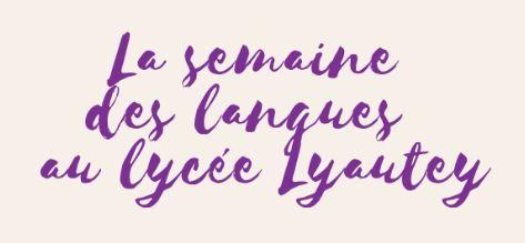 La semaine des langues au lycée Lyautey