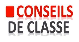 Calendrier conseils de classe du 3ème trimestre