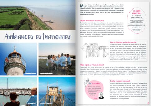 Illustrations Magazine Océanesque - Office du Tourisme Médoc Atlantique