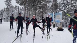 Petter, Hedda, Emrik, Jonte och Peter