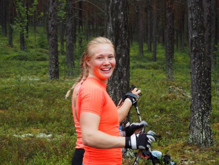 Jonna Sundling, en av årets hemliga gäster.