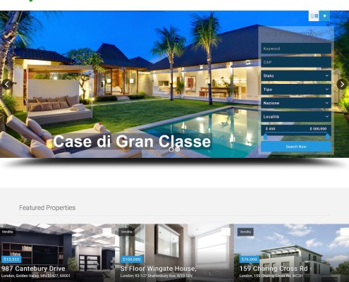 Agenzia Immobiliare LY - Website demo - by Lycnos