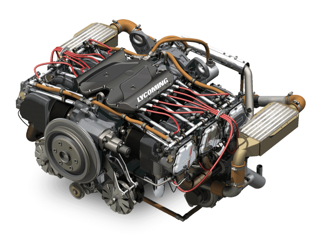 IE2 Engine Lycoming Aircraft Lycoming Engines