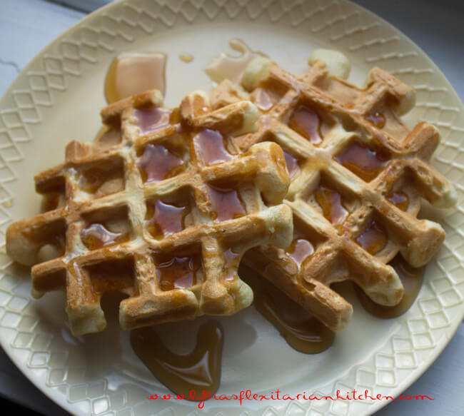 egg and dairy free waffles