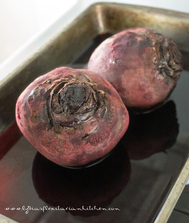 Beets & Skordalia ~ Lydia's Flexitarian Kitchen