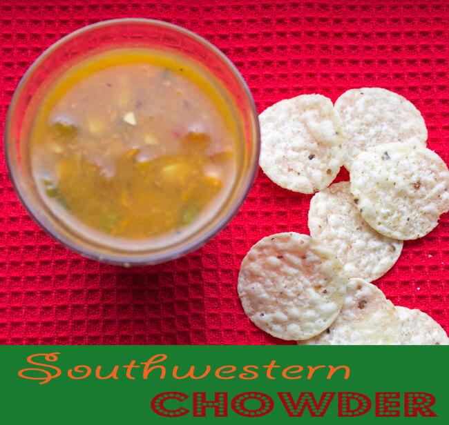 Southwestern Chowder ~ Lydia's Flexitarian Kitchen