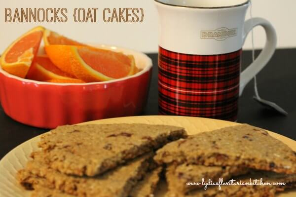 Bannocks ~ Scottish Oat Cakes ~ Lydia's Flexitarian Kitchen