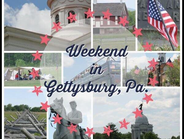 Weekend in Gettysburg, Pa
