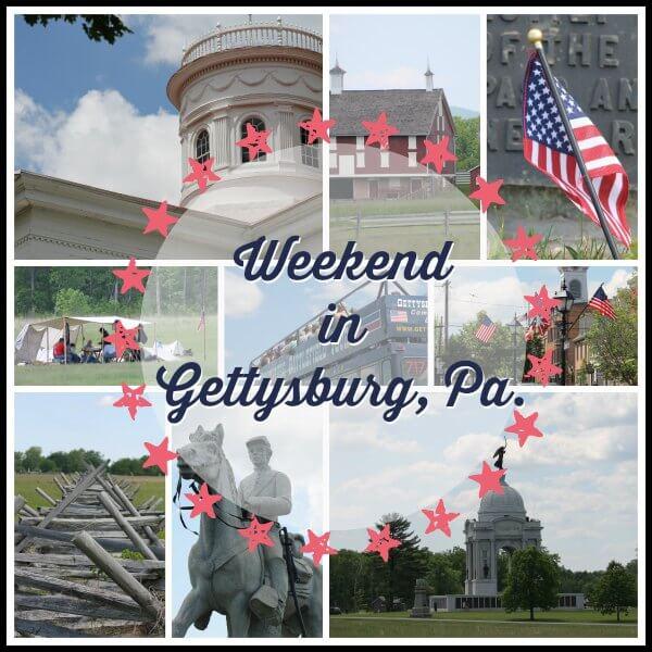 Weekend in Gettysburg, Pa. ~ Lydia's Flexitarian Kitchen