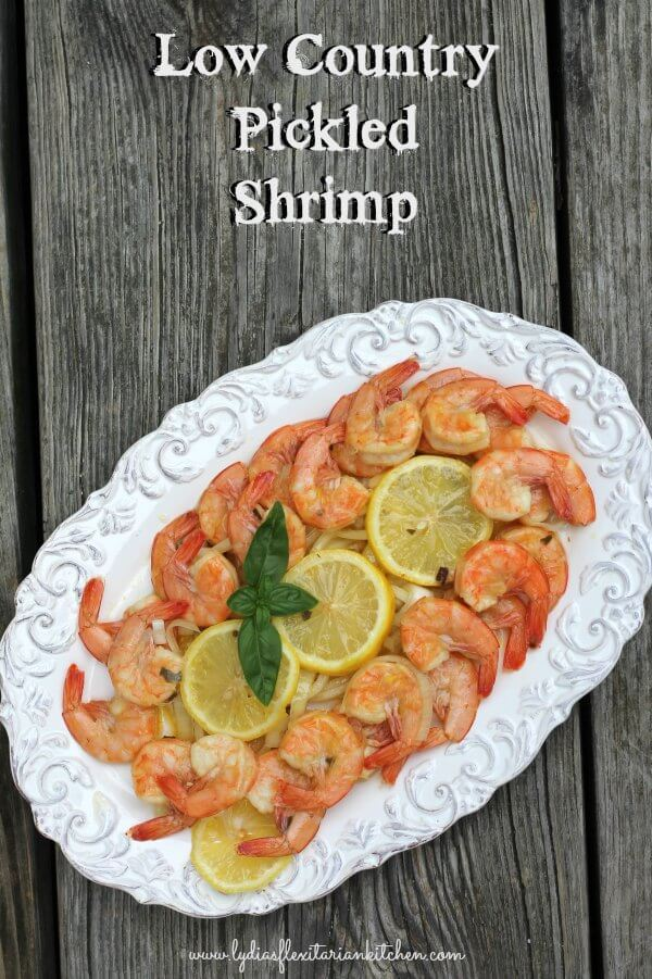 Pickled Shrimp for Father's Day ~ Lydia's Flexitarian Kitchen
