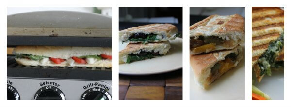 Meatless Sandwiches ~ Lydia's Flexitarian Kitchen