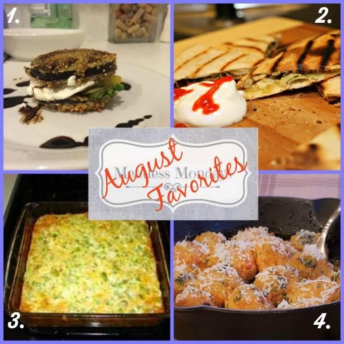 #MeatlessMonday Favorites Aug 2014 ~ Lydia's Flexitarian Kitchen