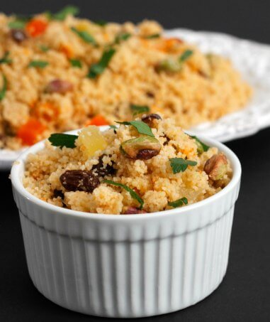 Recipe ReDux: Couscous With Dried Fruits & Nuts
