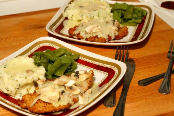 Weeknight Chicken Schnitzel