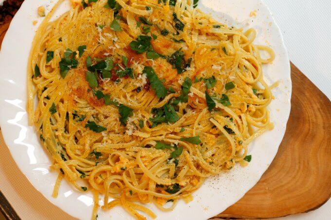 Maltese Style Spaghetti Omelette
