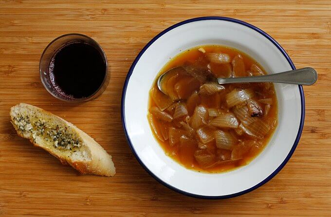 Quick and Easy Onion Soup ~ Lydia's Flexitarian Kitchen