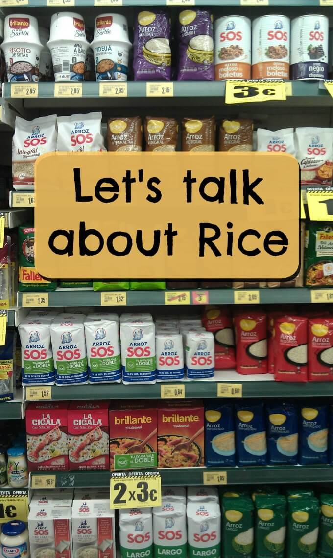 Rice in the Store ~ Lydia's Flexitarian Kitchen
