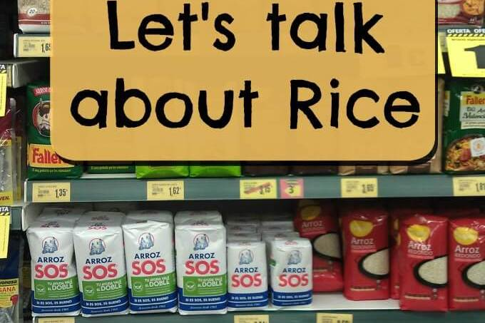 Let's Talk About Rice