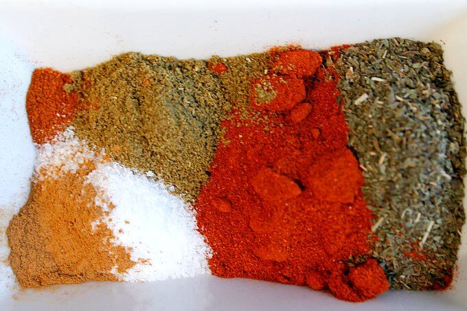 Spice Blend for Turkish Meatball Sliders ~ Lydia's Flexitarian Kitchen