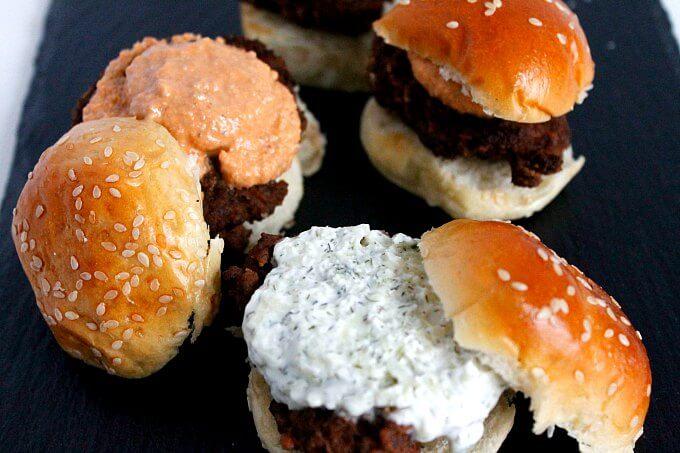 Turkish Meatball Sliders
