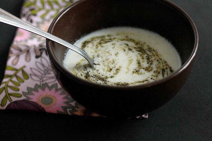Yogurt Soup ~ Lydia's Flexitarian Kitchen