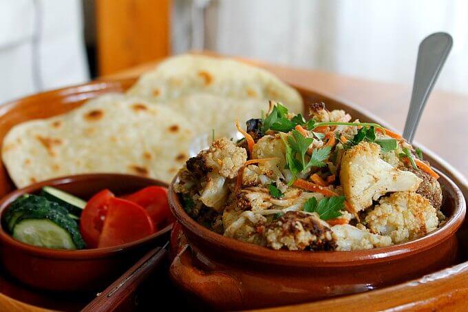 Lebanese Style Cauliflower