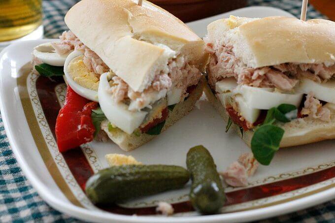 Tuna Sandwich, Spanish Style