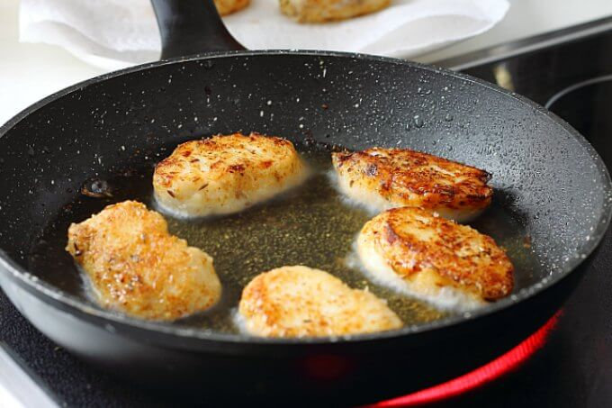 Thai Spiced Fish ~ crispy outside, flaky inside~ #FoodOfTheWorld ~ Lydia's Flexitarian Kitchen
