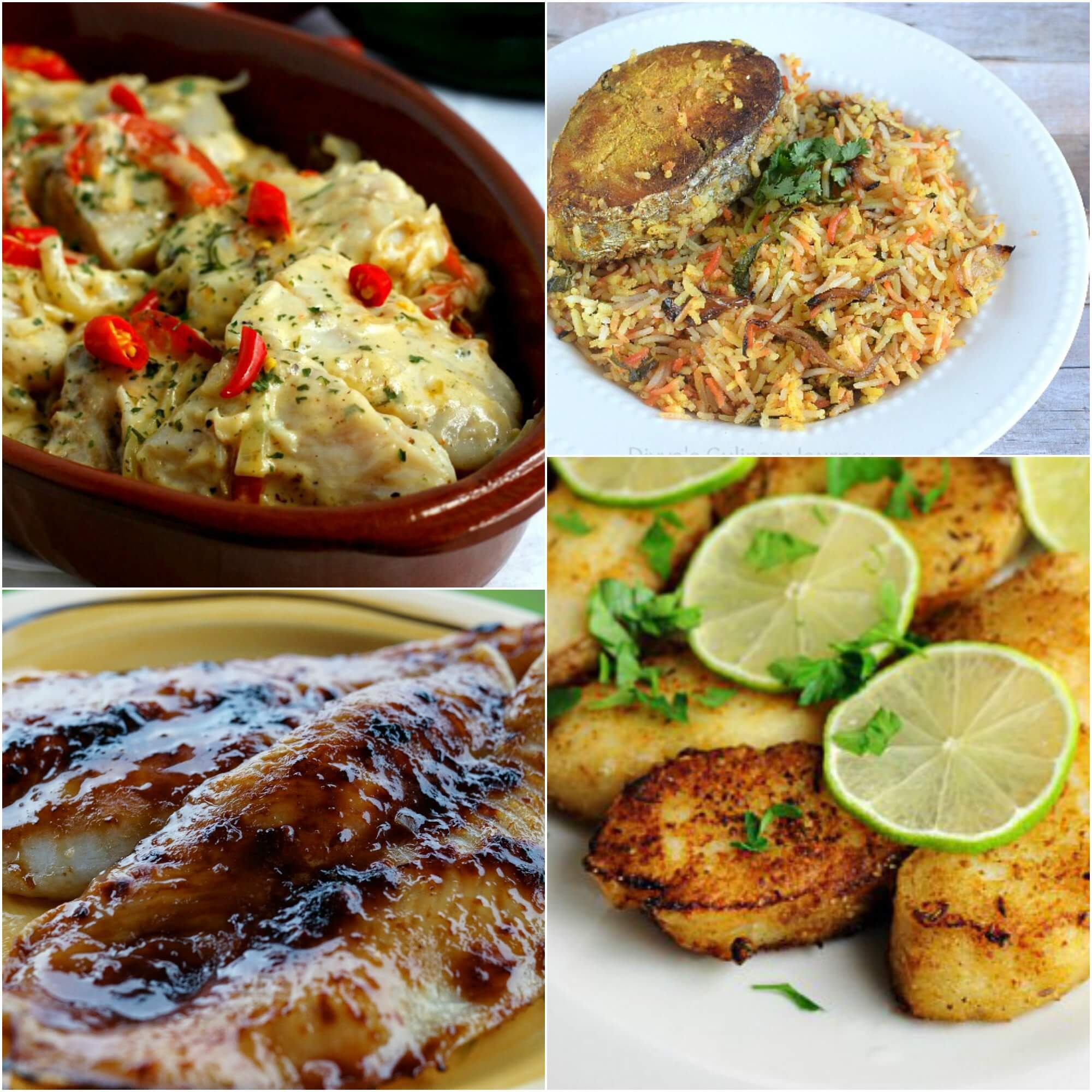 12 Favorite Seafood Dishes ~ Perfect for Anytime of Year ~ Lydia's Flexitarian Kitchen & Friends