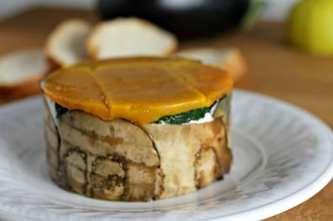 Vegetable and Goat Cheese Terrine ~ #TheRecipeReDux ~ Lydia's Flexitarian Kitchen