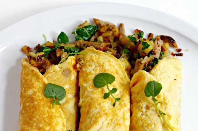Stuffed Omelets