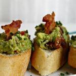 Avocado and Bacon Toasts ~ Lydia's Flexitarian Kitchen