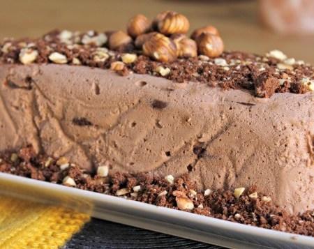 Coffee & Hazelnut Icebox Cake ~ I Heart Cooking Clubs ~ Lydia's Flexitarian Kitchen