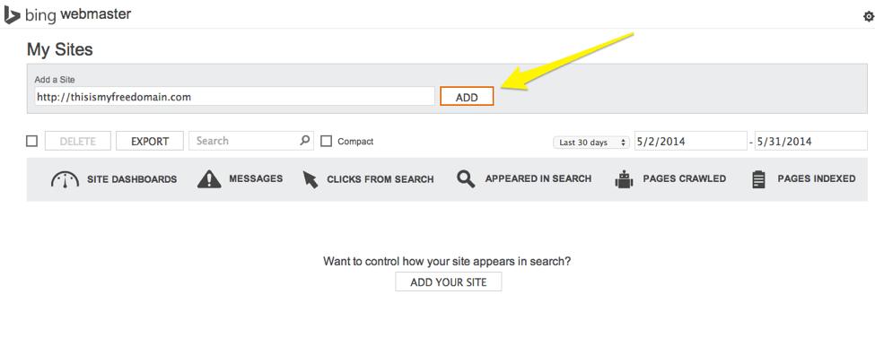 SEO Checklist Bing Webmaster