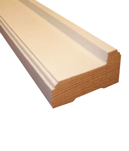 Marcos de madera para puertas econ micos blanco - Puertas de madera en blanco ...