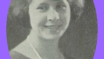 Martha Budd of Williamstown, 1924 – Lykens Valley: History