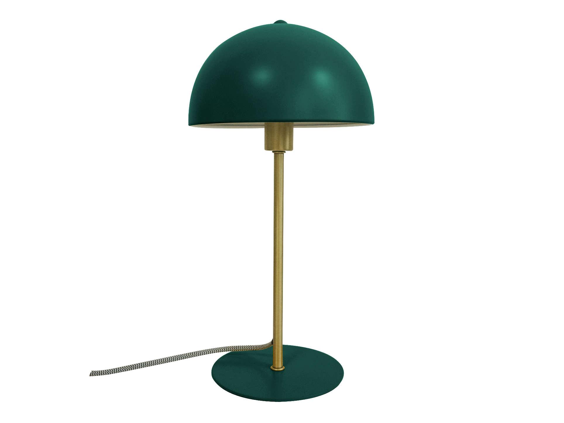 Bord Lampe Bonnet Gron Designerlamper Fra Lykkedeluxe