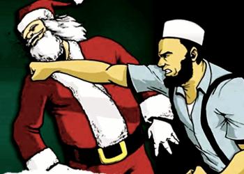 (Julenissen blir regelrett slått ut av de nye trosretningene i Norge).