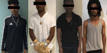 ERITREA: De fire gjengvoldtektsmennene er alle i 20-års alderen og fra Eritrea. (Foto: Politiet).
