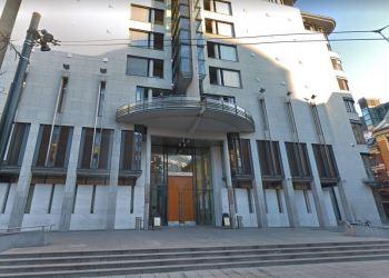 OSLO TINGRETT. En muslimsk kvinne står tiltalt for falsk hatforbrytelse i Oslo Tingrett.  (Google Streetview)