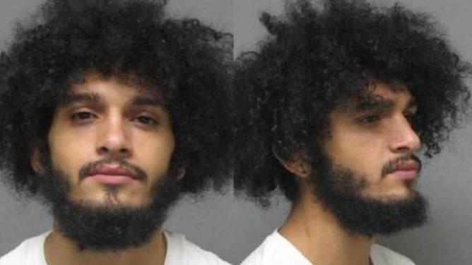 PÅGREPET. Den 20-årige Black Lives Matter-aktivisten skal ha blitt pågrepet av politiet etter at bildet kom ut. (Foto: Politiet).