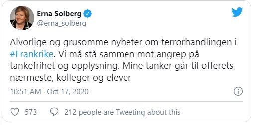 (Skjermbilde: Twitter).