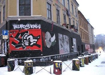 Foto: Blitzhuset i Oslo. Kjetil Ree (CC BY-SA 3.0))