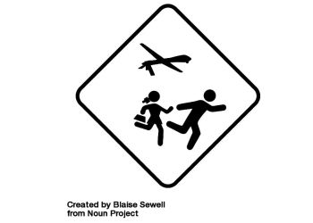 Drone Strike by Blaise Sewell from the Noun Project