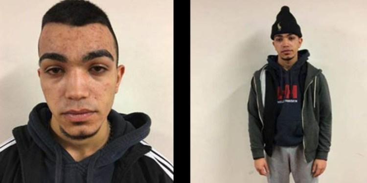 ET BARN: Damir Ali Ali, her fotografert ved pågripelsen, får 840.000 kroner fra svenske myndigheter ettersom høyesterett har kommet fram til at han var et, om noe skjeggete barn, da bildet ble tatt.