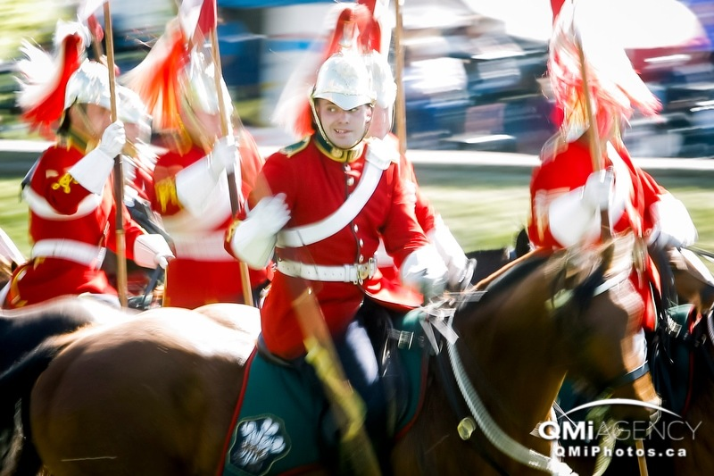 The Lord Strathcona's Horse (Royal Canadians) perform their musical ride at Spruce Meadows in Calgary, Alta., on Friday, June 6, 2014. It was part of National, the show-jumping facility's first major tournament of the year. Lyle Aspinall/Calgary Sun/QMI Agency