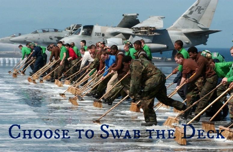 swab the deck