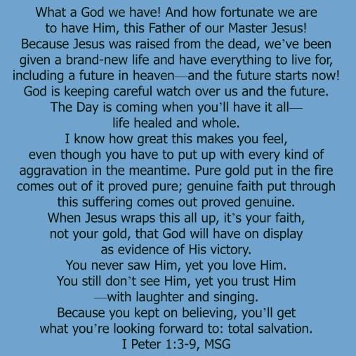 I Peter 1:3-9