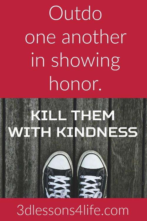 Show Honor | 3dlessons4life.com