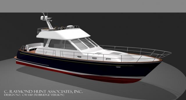 Lyman Morse Boatbuilding 54 C Raymond Hunt Express